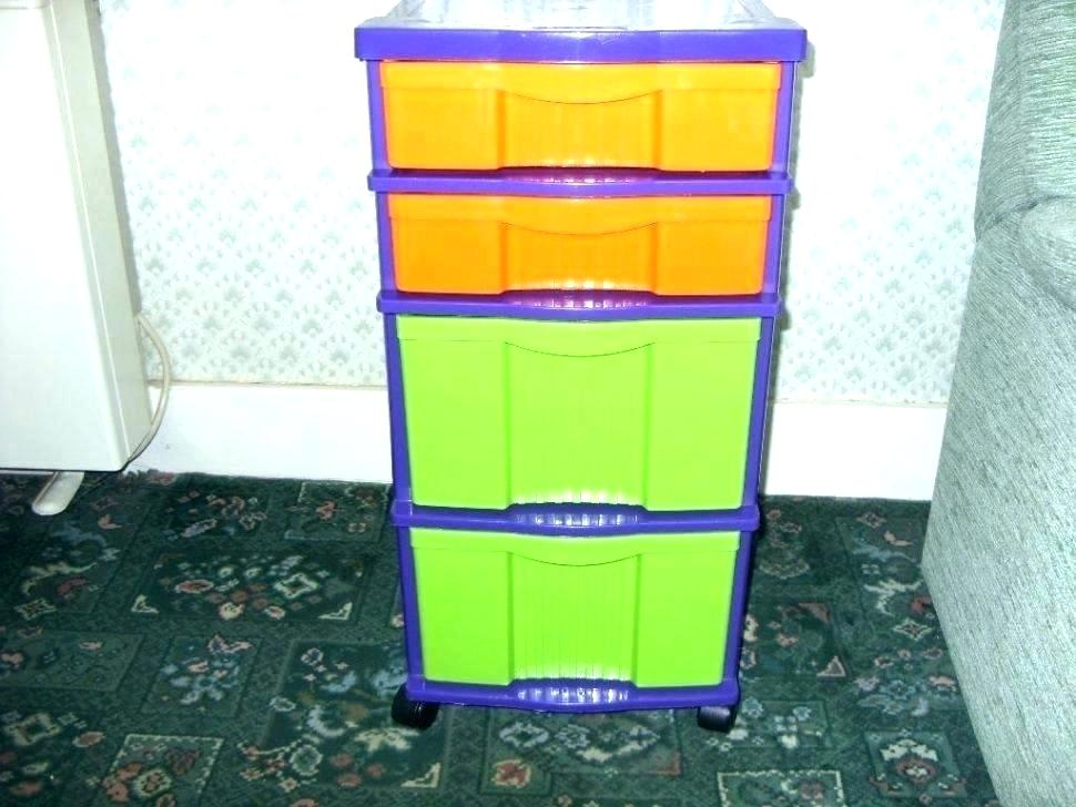 Picture of: Plastic Small Drawer Organizer