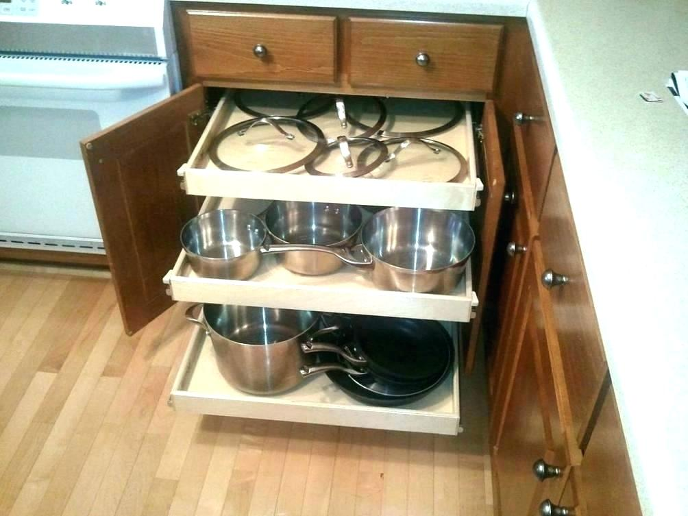 Picture of: Pull Out Pantry Shelves Lowes