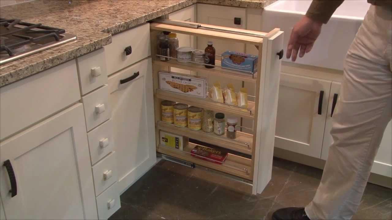 Image of: Pull Out Pantry Shelves