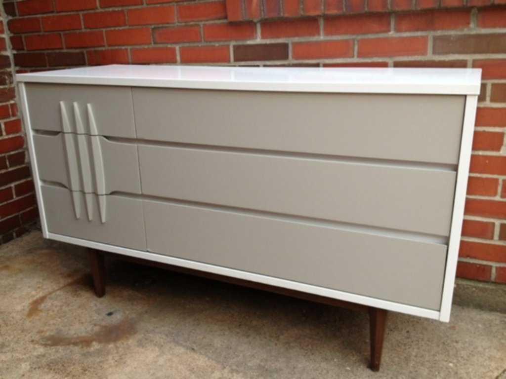 Picture of: Remodel Danish 6 Drawer Chest Painting