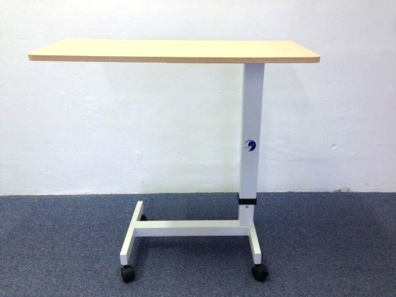 Picture of: Rolling Bed Tray Table with Drawer