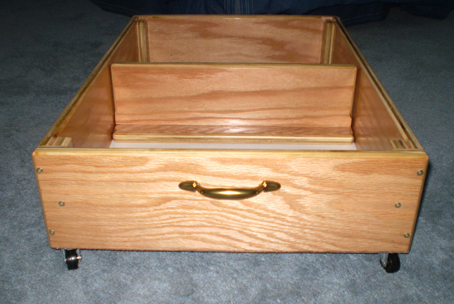 Rolling Under Bed Storage Drawers