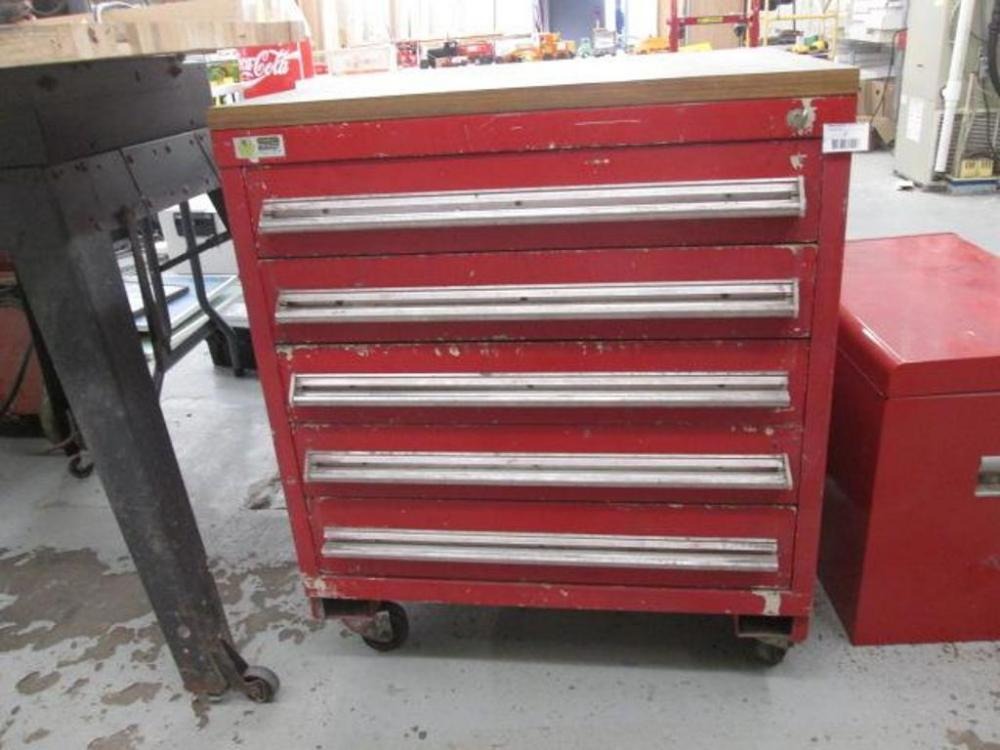 Picture of: Shabby Chic 5 Drawer Tool Chest