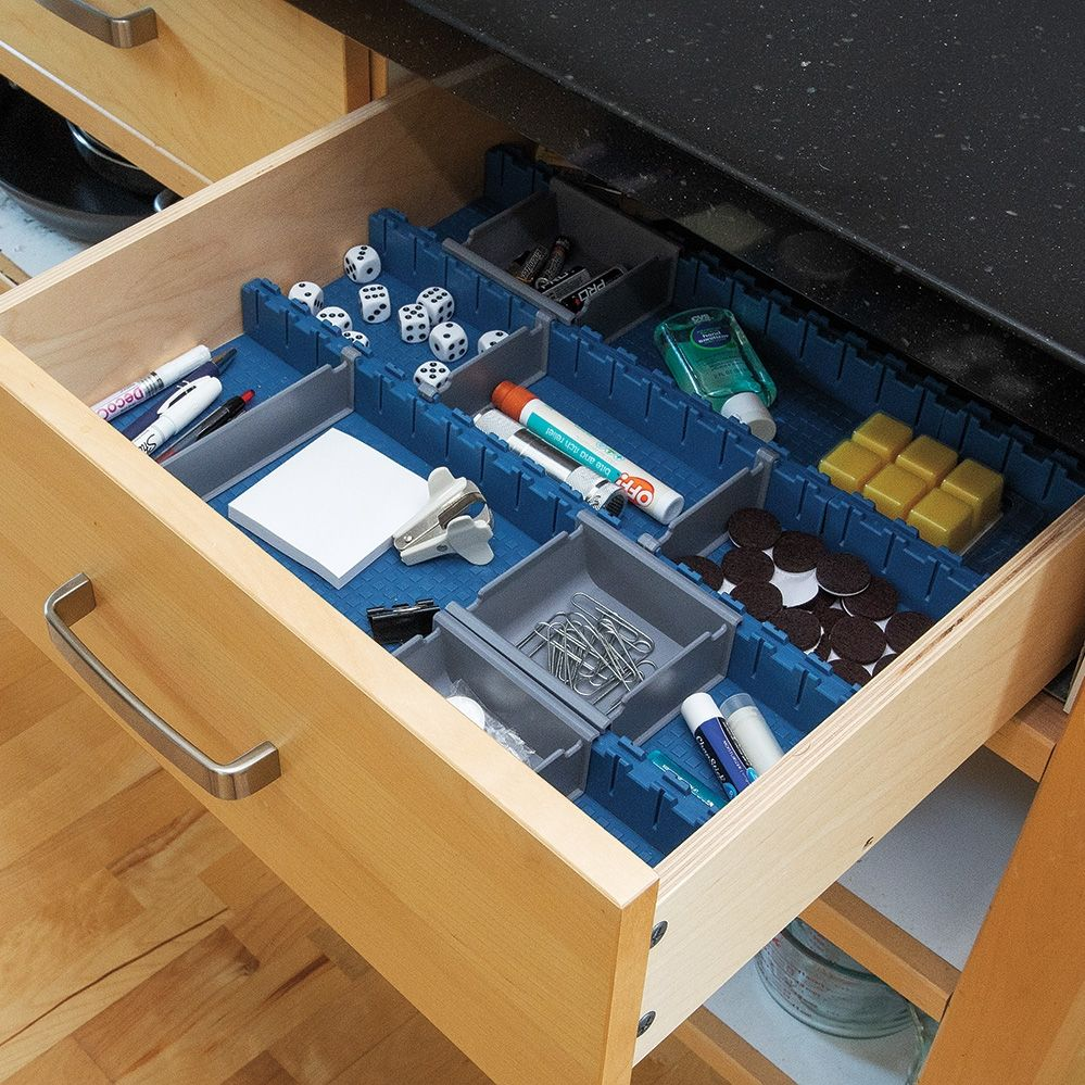 Picture of: Shallow Drawer Organizer Desk
