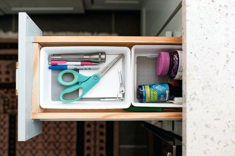 Picture of: Shallow Drawer Organizer Tray