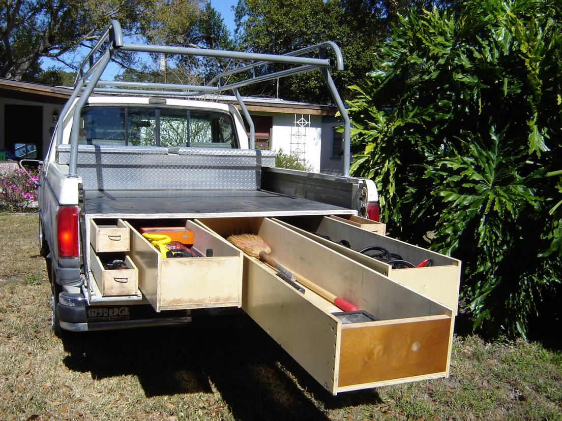 Picture of: Slide out Truck Drawer