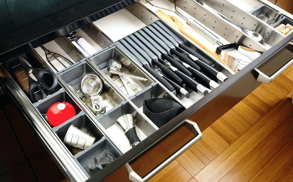 Picture of: Sliding Drawer Organizer