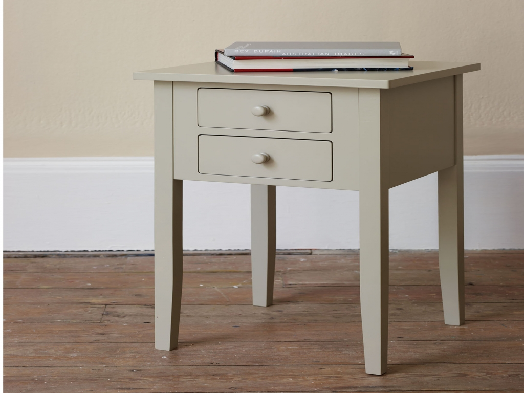 Image of: Small Bed Side Table with Drawer