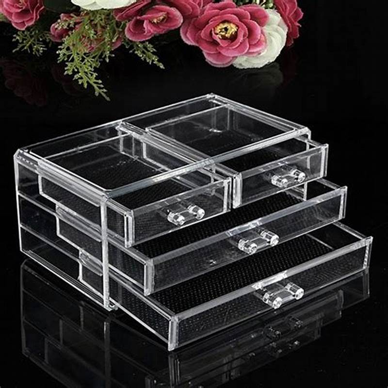 Picture of: Small Clear Drawer Organizer
