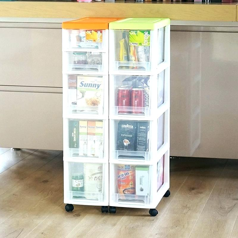 Image of: Small Stackable Drawer Organizer