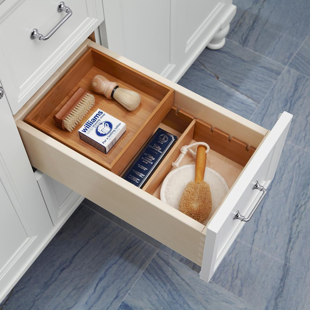 Image of: Small Vanity Drawer Organizer