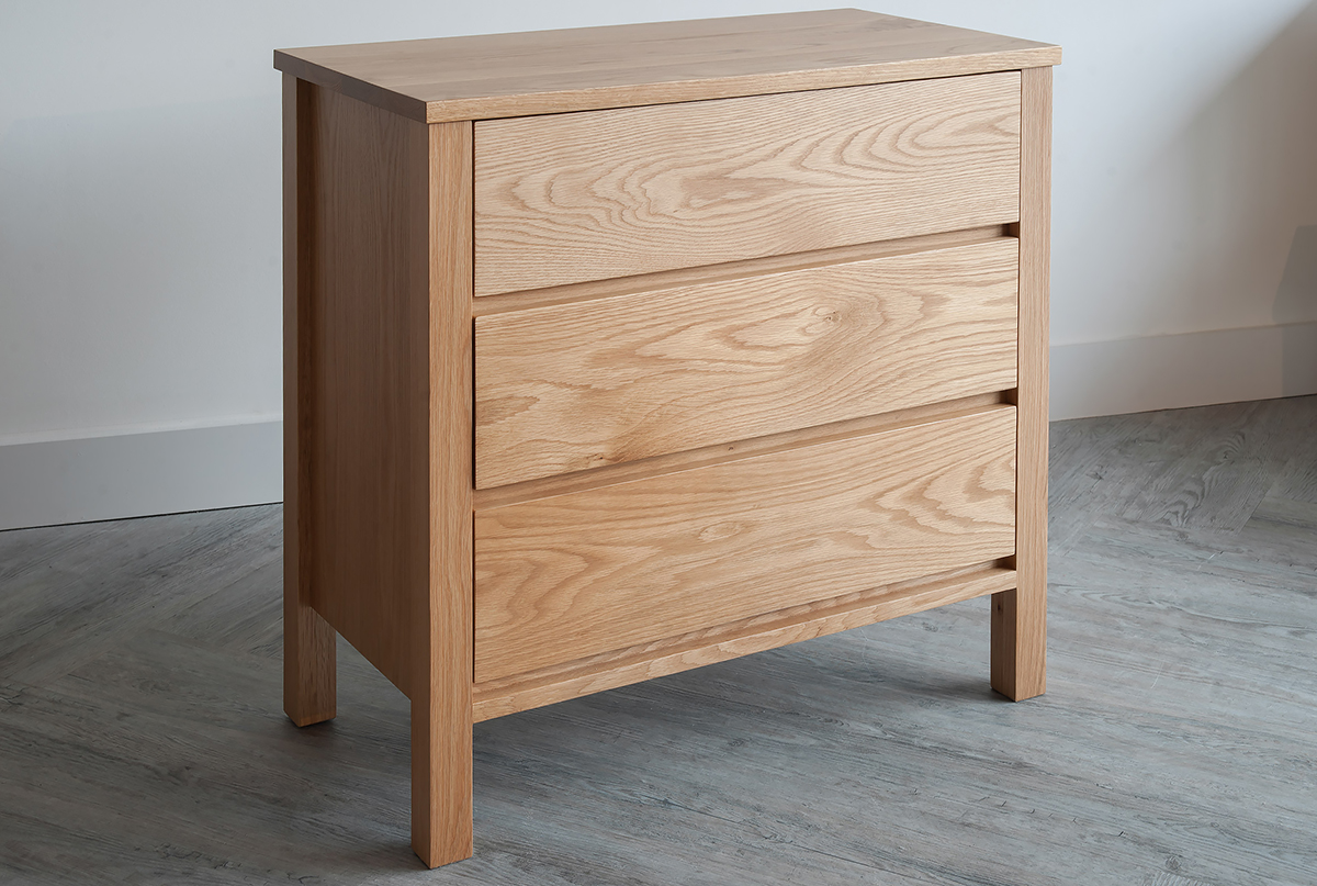 Picture of: Solid 3 Tier Drawer Chest