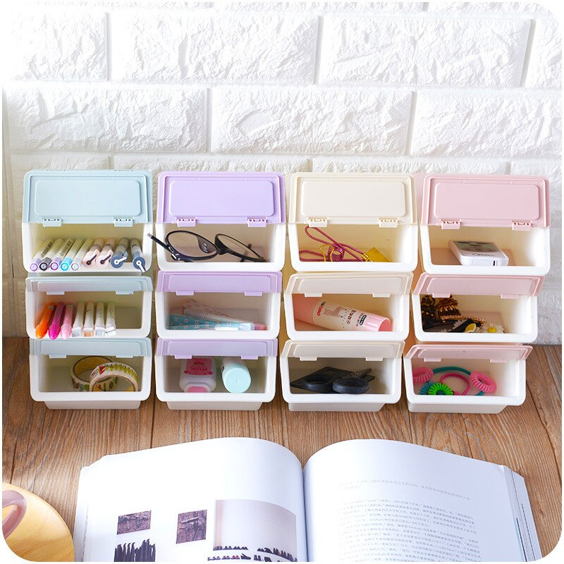 Image of: Stackable Drawer Organizer Style