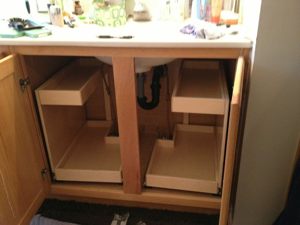Image of: Stackable Vanity Drawer Organizer