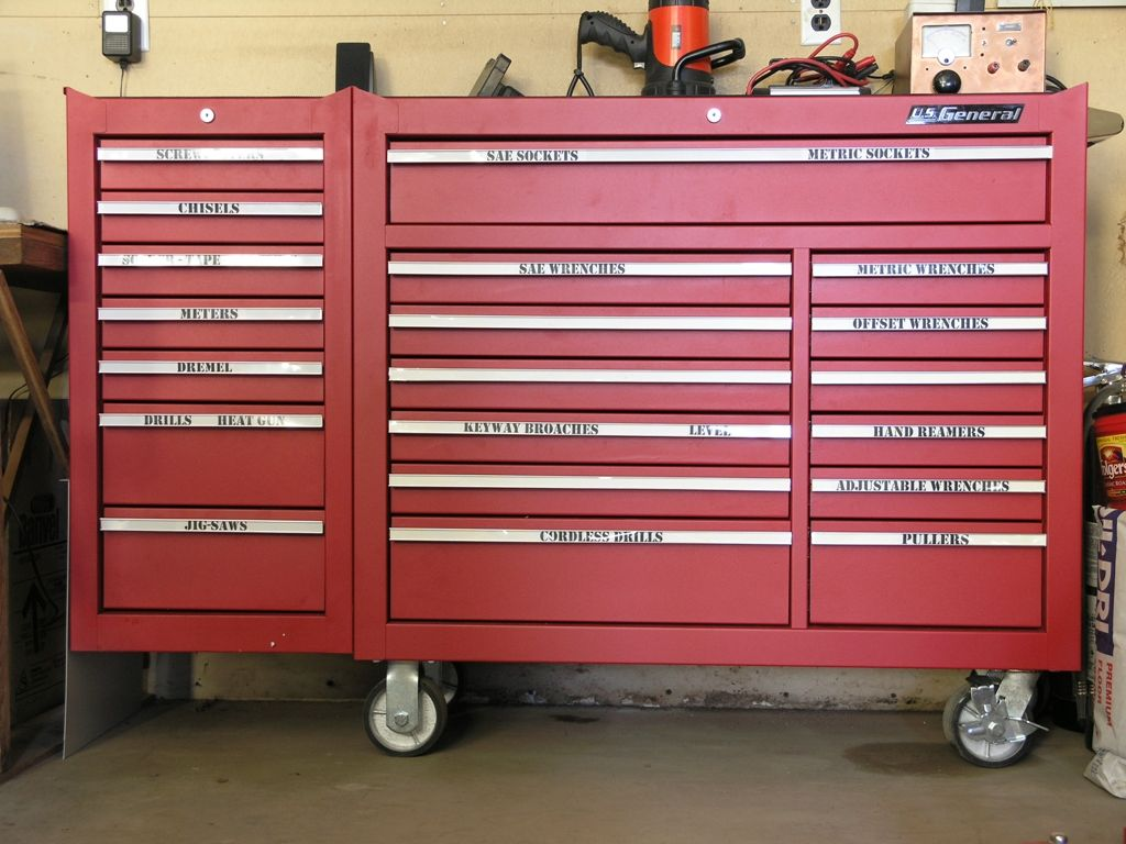 Standard Craftsman 10 Drawer Tool Chest