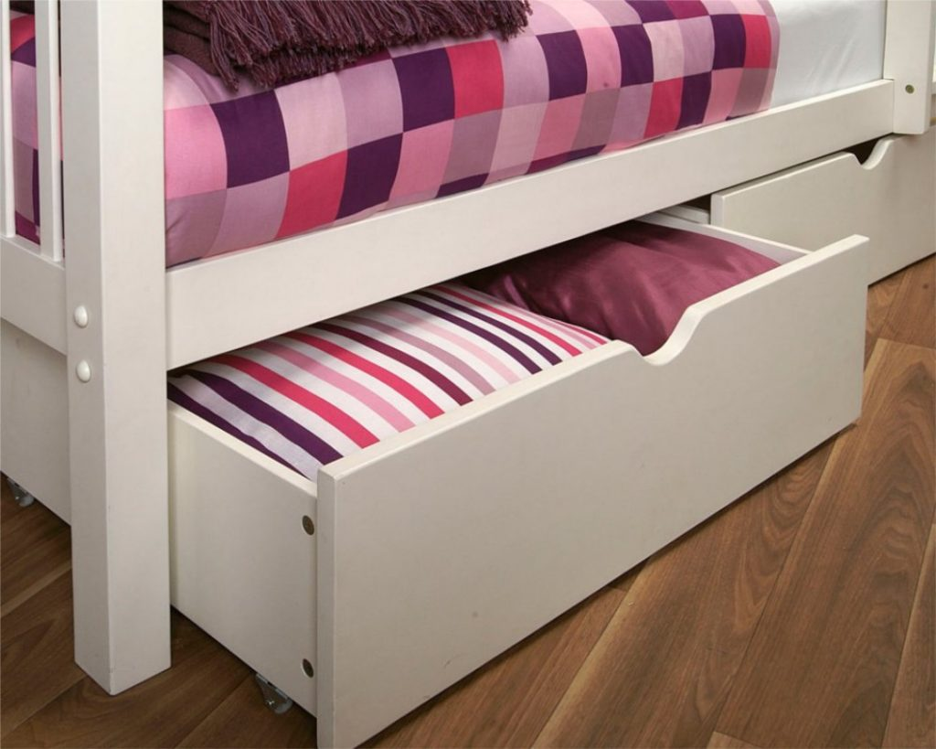 Image of: Target Under Bed Storage