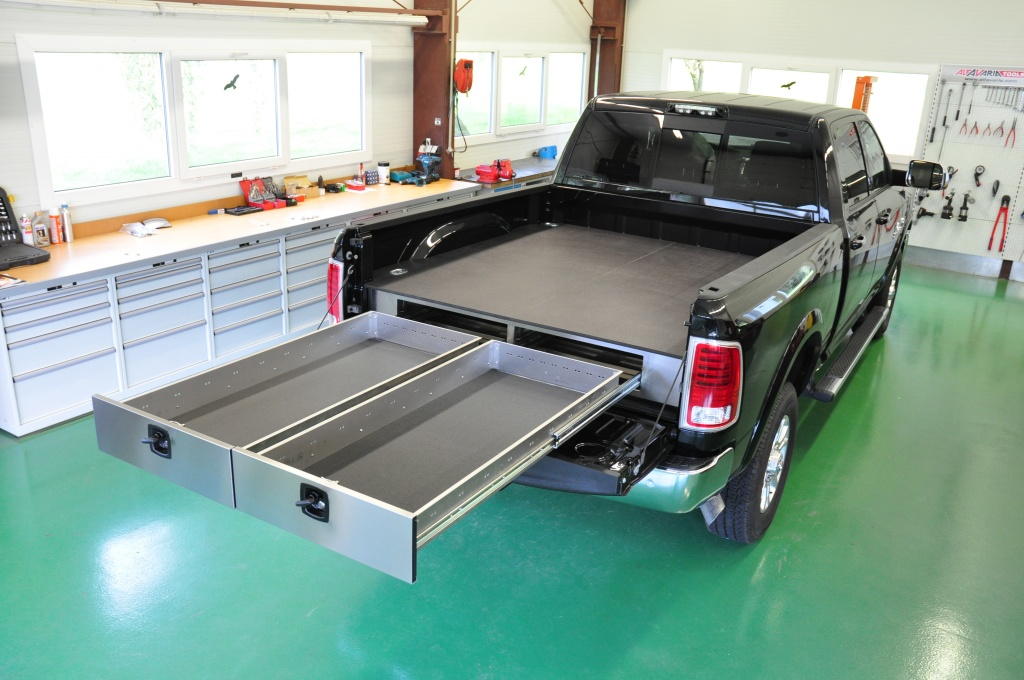 Image of: Truck Bed Drawer System