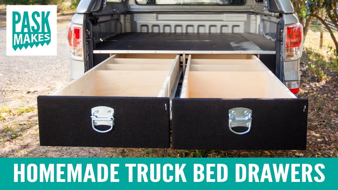 Picture of: Truck Bed with Drawer