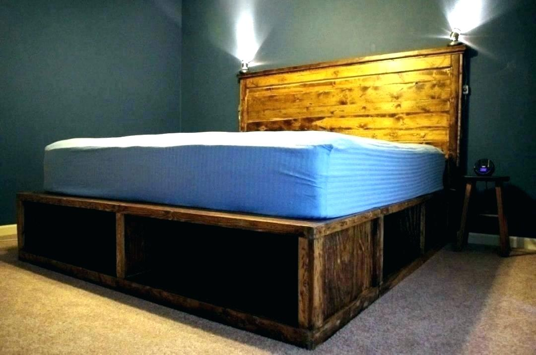 Image of: Twin Bed with 6 Drawer Storage Ideas