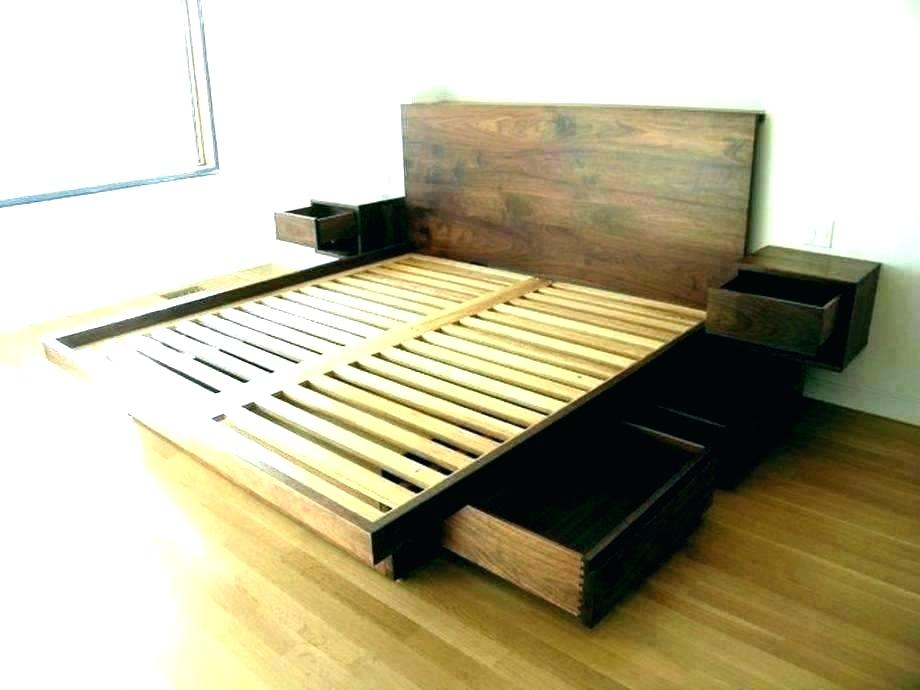 Image of: Twin XL 6 Drawer Storage Bed