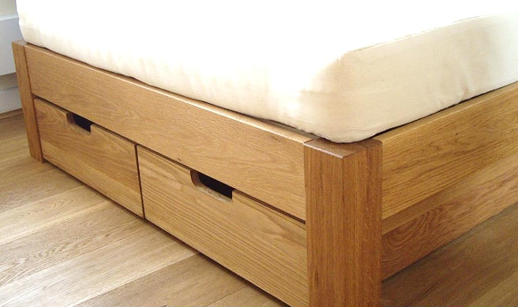 Image of: Under Bed Drawers Queen