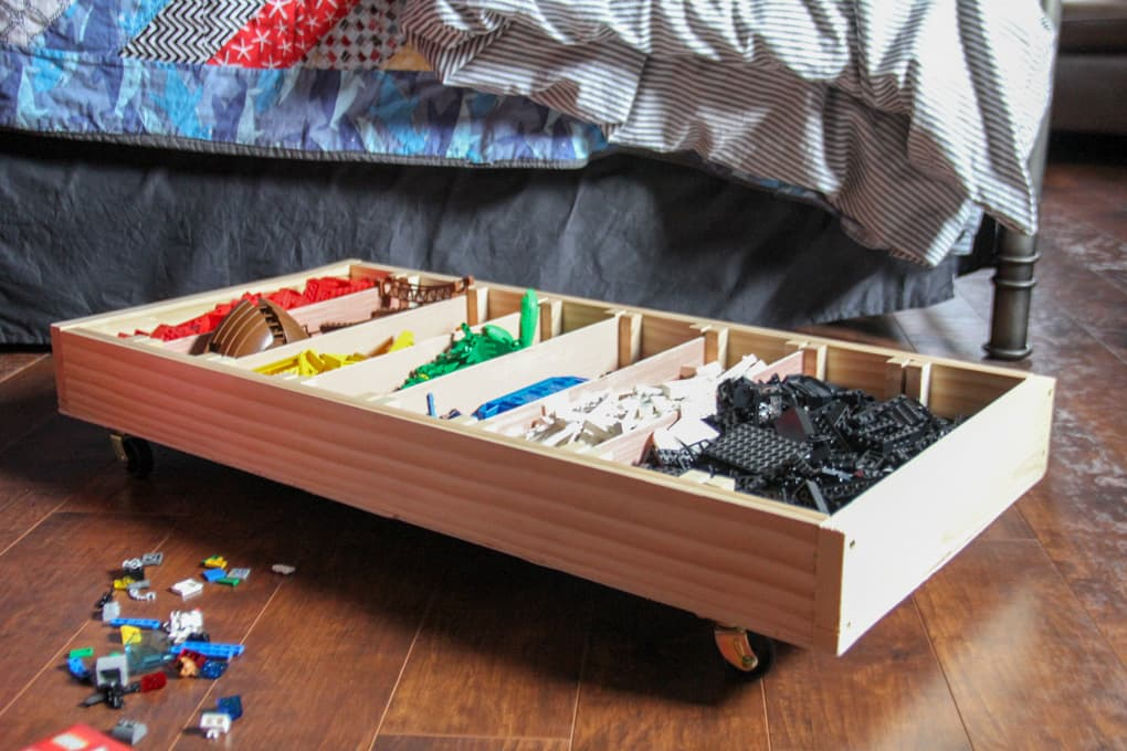 Picture of: Under Bed Storage Drawer Ideas