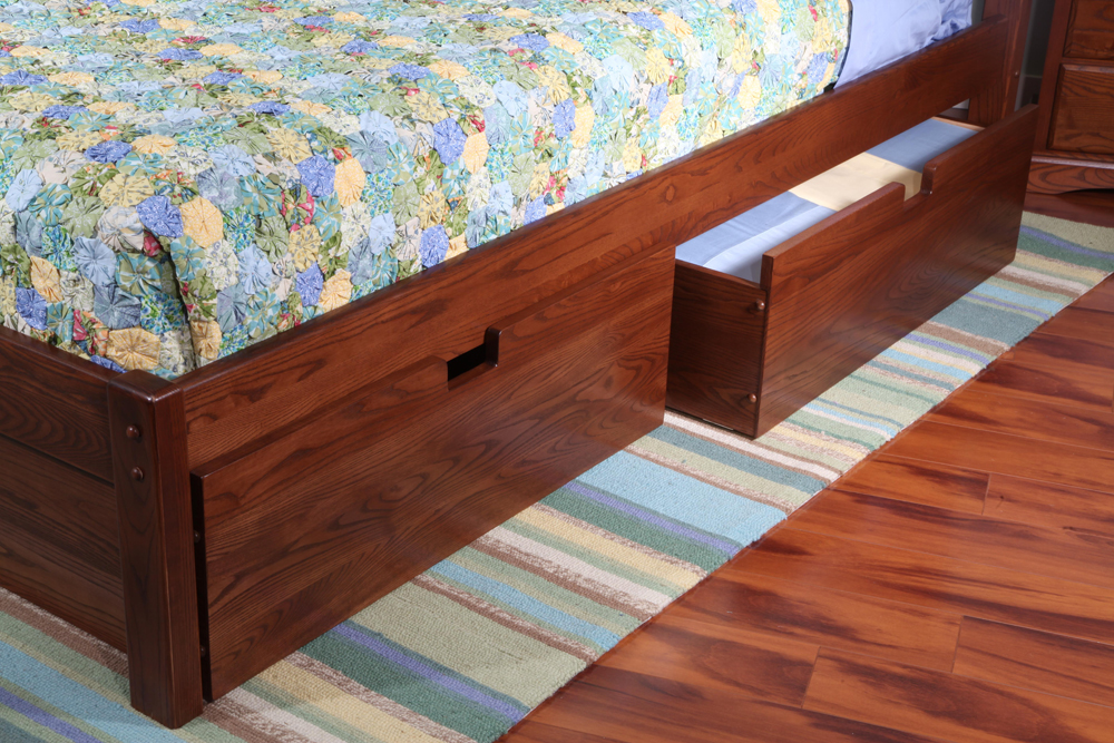 Image of: Under Bed Storage Drawers Plans