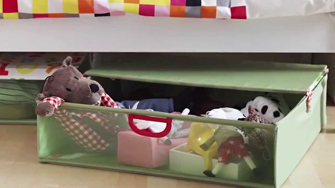 Image of: Under Bed Toy Storage Green