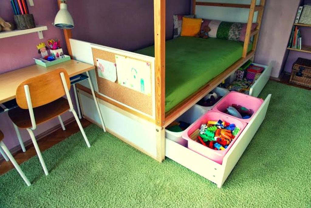 Image of: Under Bed Toy Storage Model
