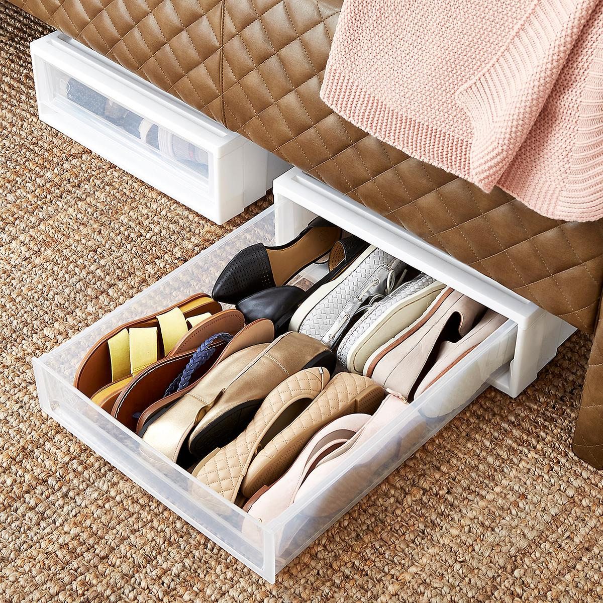 Image of: Under The Bed Storage Shoes