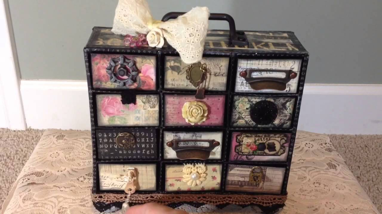 Image of: Unique Mini Chest of Drawer