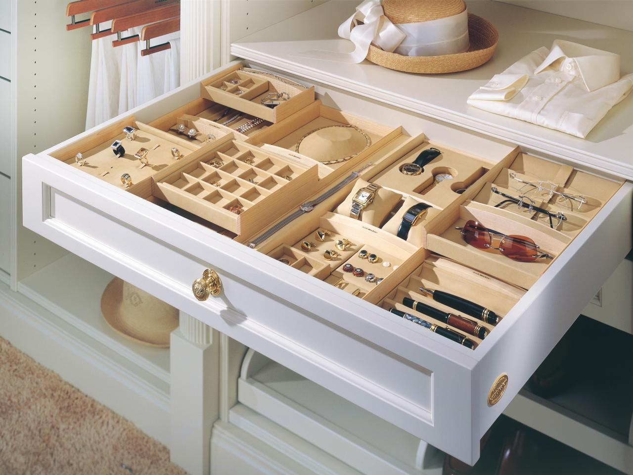 Unique Stackable Drawer Organizer