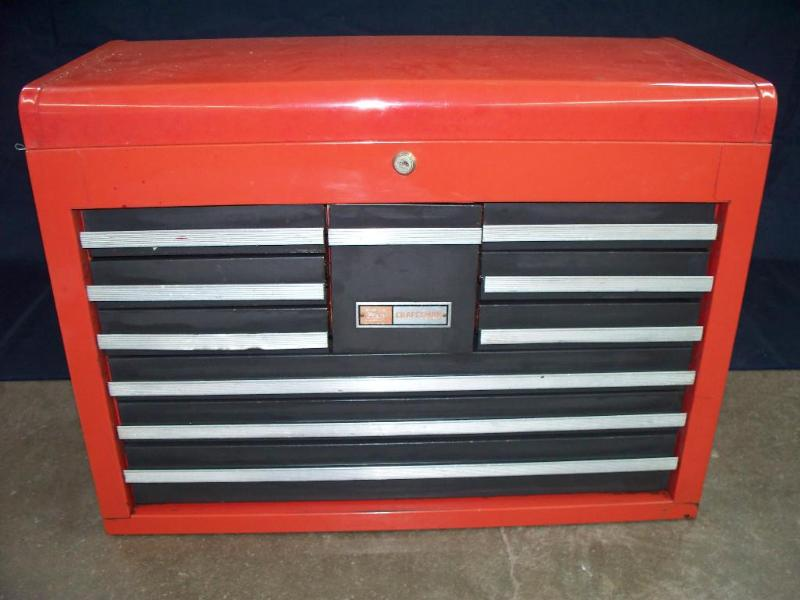 Picture of: Unusual Craftsman 10 Drawer Tool Chest