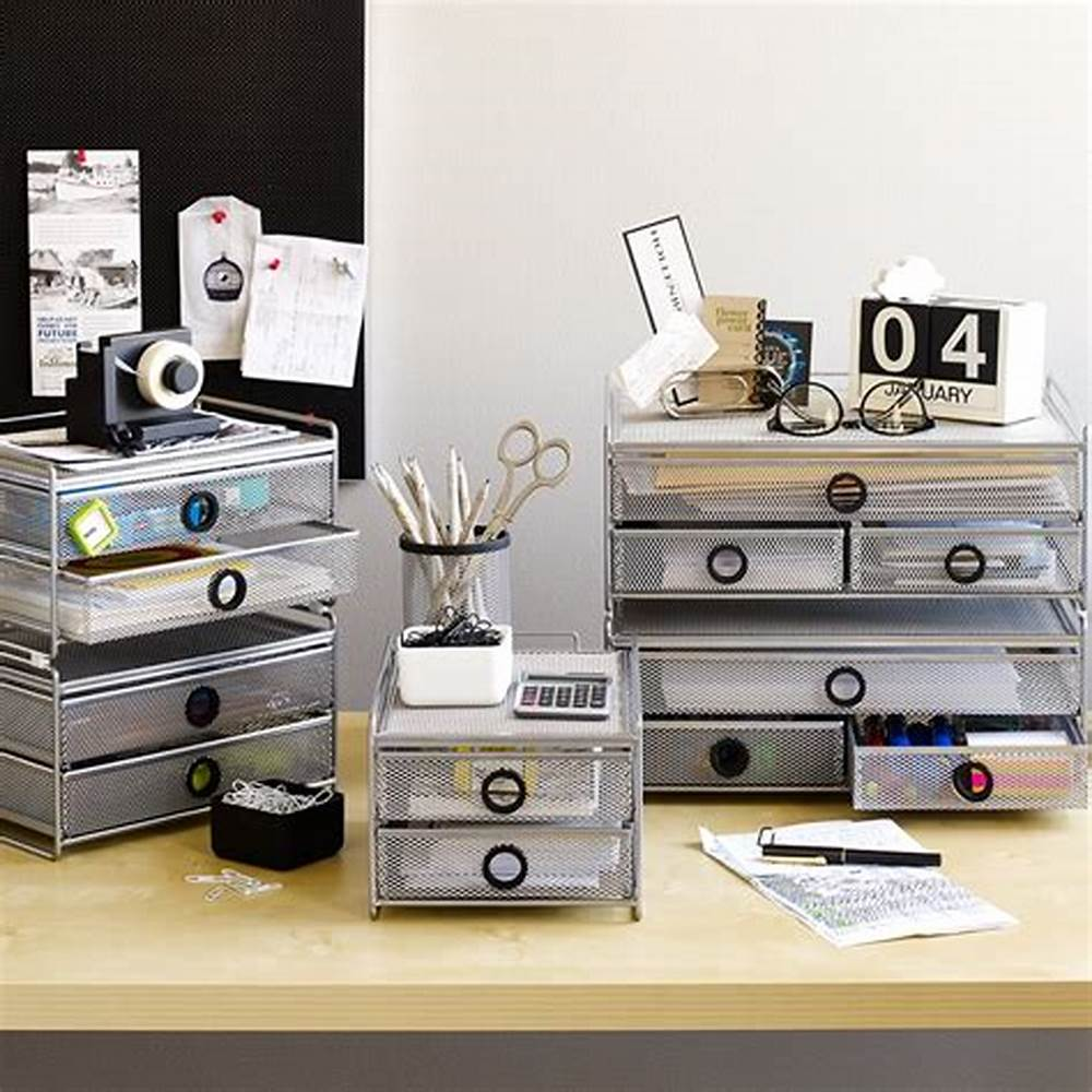 Picture of: Unusual Desk Drawer Organizer