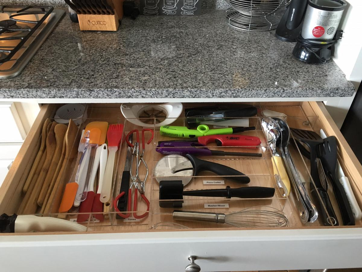 Image of: Best Utensil Drawer Organizer Ideas