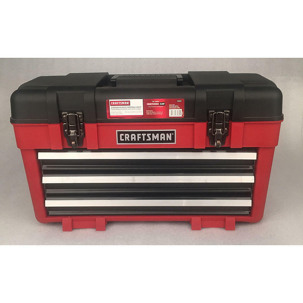 Picture of: Visual Craftsman 10 Drawer Tool Chest