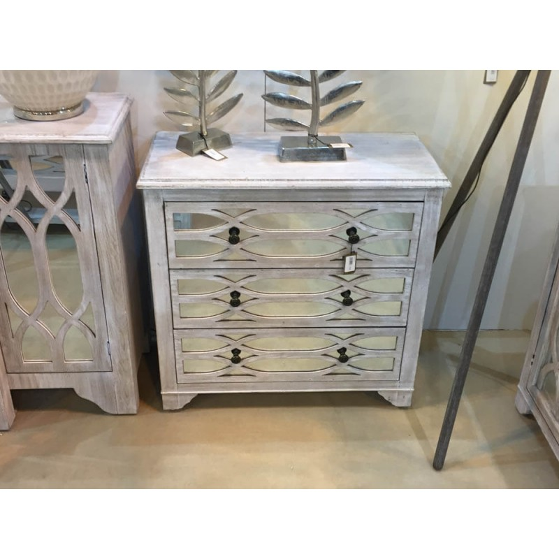 Picture of: Washed Ash 3 Drawer Chest