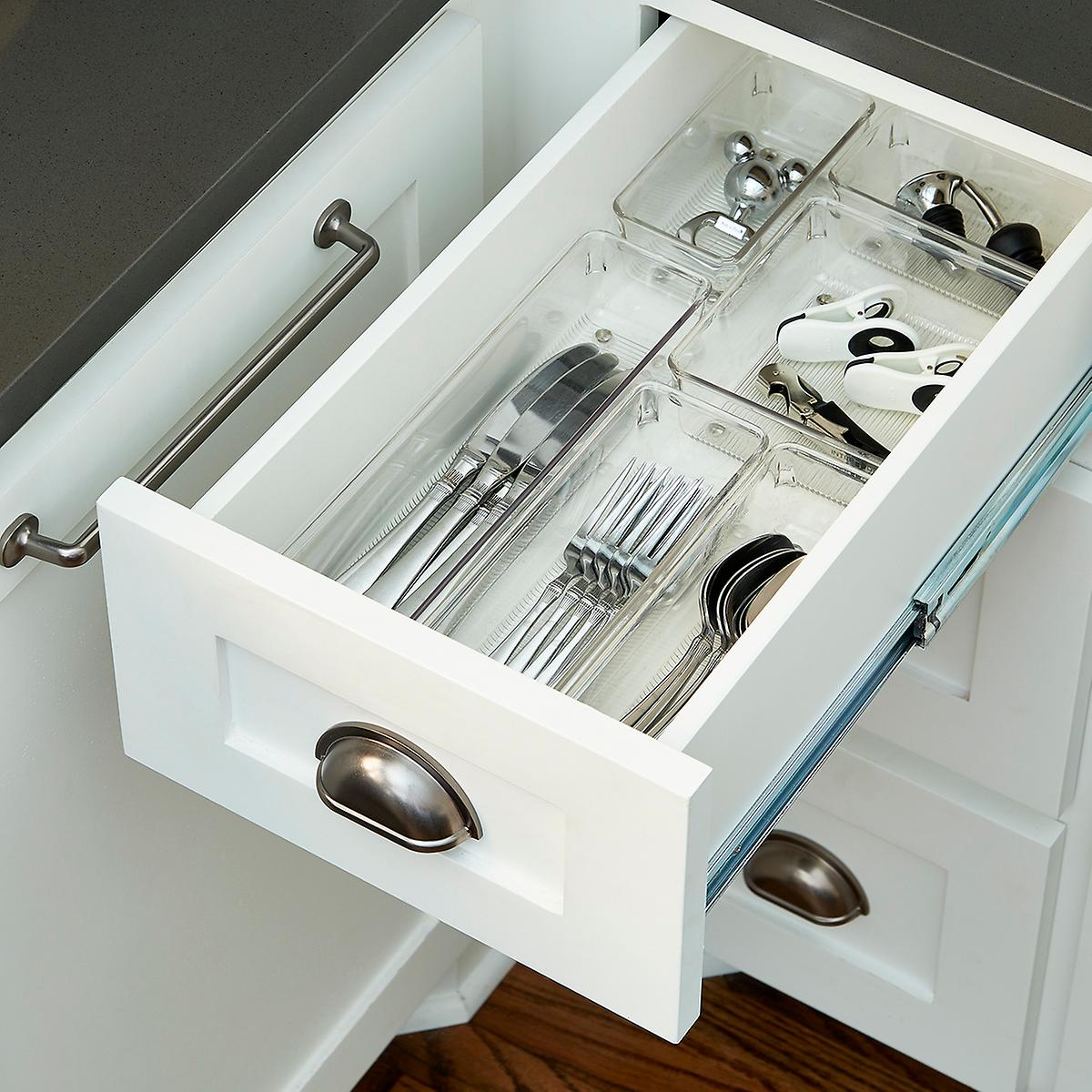 Picture of: White Small Drawer Organizer