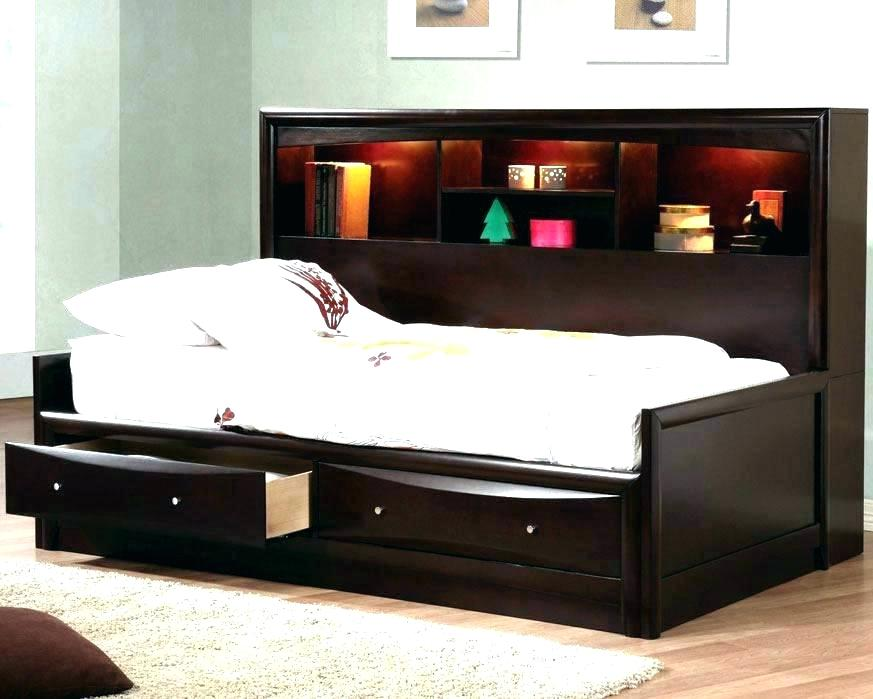 Image of: White Twin 6-Drawer Captain's Platform Storage Bed Ideas