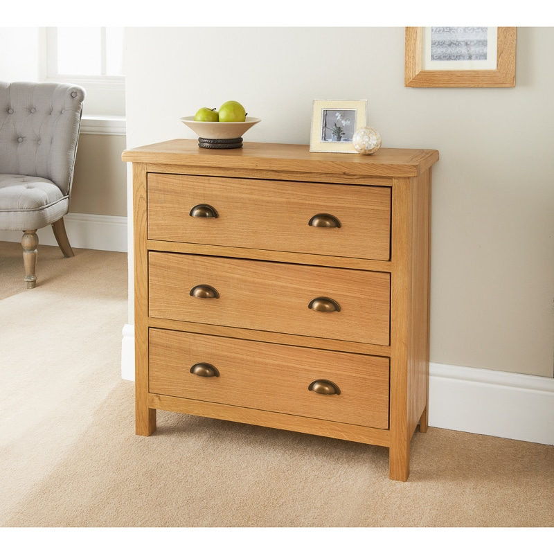 Picture of: Wiltshire 3 Drawer Chest