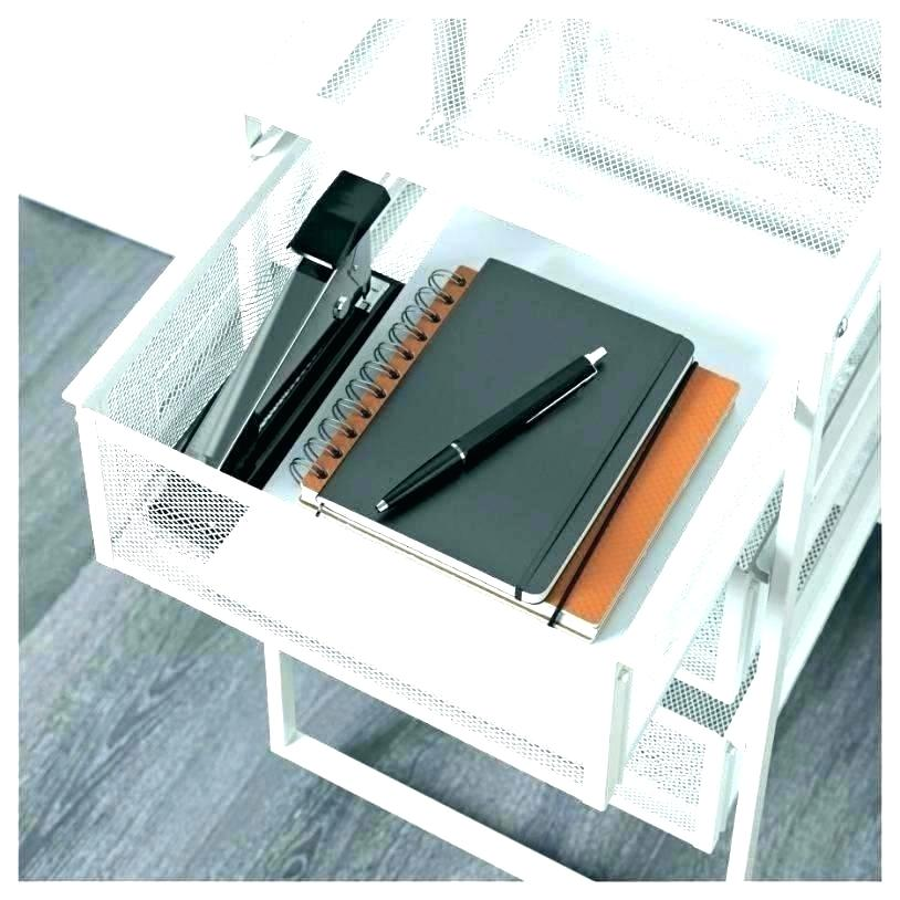 Image of: Wire Desk Drawer